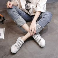 小白鞋女2018新款韩版百搭平底板鞋休闲夏季学生女鞋透气薄底轻便