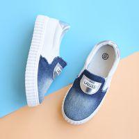 儿童板鞋男童牛仔布鞋女童休闲鞋韩版板鞋2018春季新款 一件代发