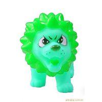 环保塑料 卡通狮子储蓄盒 动物模型硬币存钱罐 儿童玩具婴儿礼品