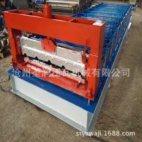 新款彩钢压瓦机 兴和机械推出快速840型压瓦机 900型铁皮瓦机