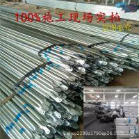 批发DN25热镀锌钢管 加工订做农业蔬菜大棚管 GLP832连体温室大棚