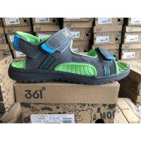 一线运动鞋品牌361童装凉鞋库存鞋子低价批发地摊货批发