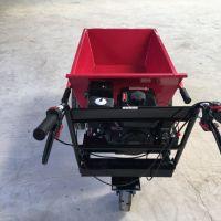 养牛场草料运输斗车 带动力的翻斗车型号 山东奔力机械