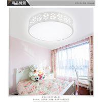 LED圆形吸顶灯 现代简约卧室灯具阳台厨卫客厅餐厅书房灯灯具灯饰