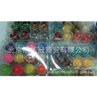 大量现货供应12种颜色金葱粉  小瓶装金粉  DIY手工用品