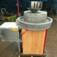厂家直销半自动电动面粉石磨机 多用途香油红石磨产量怎么样