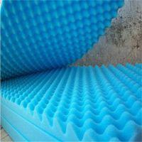 厂家生产高密度鸡蛋波纹波浪波峰隔音海绵 阻燃高密度海绵