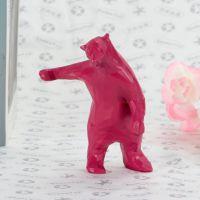 2019年5月北极熊卡通树脂摆件定制 树脂玩具搪胶玩偶批发厂家 树胶公仔礼品定做