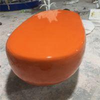广州玻璃钢雕塑工厂 创意异型玻璃钢休闲椅雕塑造型
