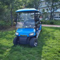 供应AS0083蓝色电动高尔夫球车