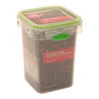 【香港品牌】透明方形650ML 食用级pp塑料食品保鲜盒饭盒 冰箱保鲜厨房储物罐 创意便当盒餐盒