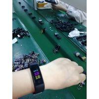 运动计步心率血压睡眠久坐监测防水115plus彩屏智能手环