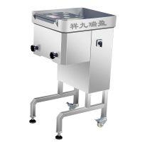 广州切肉片机 小型电动不锈钢切片机 商家用多功能 切鸡胸肉片机