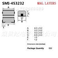 供应SMI-453232-1R0K 1812 1UH贴片屏蔽绕线电感MAG.LAYERS美磊