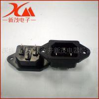 厂家生产 电脑带螺丝AC公座 转换插头 铁脚公座 接线插座