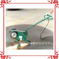 厂家生产手推式砂带研磨机 平板焊缝削平机 小型钢板抛光机
