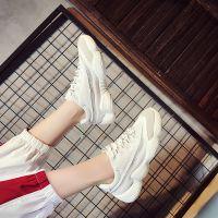 运动鞋女2018秋夏季新款韩版百搭时尚跑步鞋休闲鞋学生透气女鞋