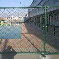 林瑞球场围网勾花包塑铁丝 学校运动操场隔离防护 体育场围网球场围栏