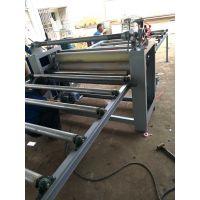 木工平面大板PVC贴纸机 木纹纸贴面机 PVC膜自动贴合机