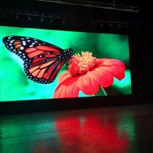 中宏P4室内全彩LED高清显示屏4K电视效果