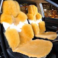 羊毛汽车坐垫冬季汽车坐垫保暖冬季坐垫羊皮羊毛坐垫