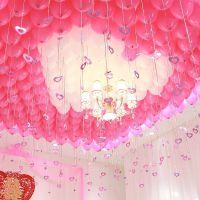 JSH婚庆婚礼婚房结婚气球装饰用品表白求婚告白浪漫房间场景布置