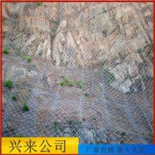 山体滑坡边坡防护网 主动边坡防护网价格 包山钢丝绳网价格