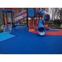 13mmEPDM塑胶跑道 塑胶地面铺设 幼儿园地面