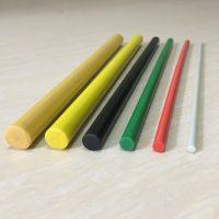 玻璃纤维棒批发窗帘玻纤杆白色可按照要求定制加工玻璃纤维杆磨头