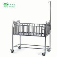 HR-763厂家直供优质不锈钢婴儿床婴儿车 医用婴儿推车