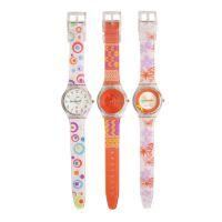 SPIKE手表厂定制新款塑料三叉款斯沃琪广告礼品手表