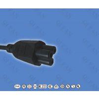厂家供应CE欧标认证PVC护套H03VV-F 2*0.75电源线 CCC认证电源线