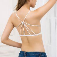 爆款女士性感内衣无缝美背托胸吊带裹胸聚拢女士打底内衣抹胸批发