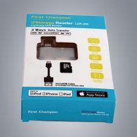 深圳订做pvc开窗贴膜纸盒 移动电源USB线包装盒 印刷彩盒厂家定制
