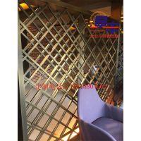 江苏酒吧不锈钢黑钛金隔断屏风定制售楼部豪华不锈钢花格