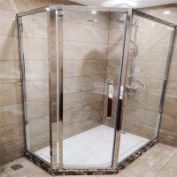 卫浴钢化玻璃 实力厂家定制高品质酒店卫浴玻璃 淋浴房玻璃 屏风隔断玻璃
