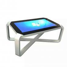 山东智能茶几触摸互动桌电容液晶屏触摸茶几桌面游戏互动查询一体机触摸茶桌触摸交互式桌子