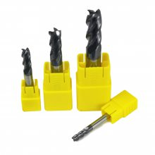 非标刀具定制55度4刃平底钨钢铣刀 HRC55度以下用合金铣刀