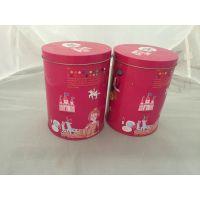 高雄五金厂家新款马口铁罐茶叶包装铁罐圆形铁盒罐圆形通用罐