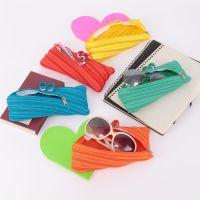 原宿zipper拉链小怪物笔袋 创意多用收纳笔袋零钱笔袋