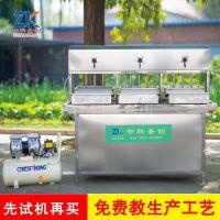 河北新式豆腐生产线 全自动豆腐生产线商用 豆腐机器价格