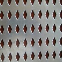 菱形不锈钢隔音冲孔网 数控冲孔加工 批量优惠