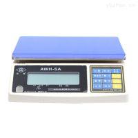 奉贤区AWH-30KG英展计重电子桌秤