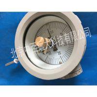 中西防爆电接点双金属温度计 型号:WSSX-411B-500mm库号:M380263