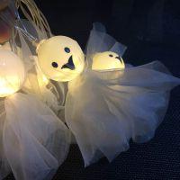 万圣节派对节日女幽灵灯 LED暖色灯串装饰 布置道具场景装饰灯