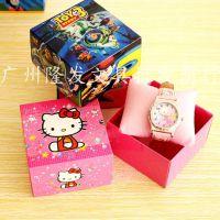 儿童生日礼物 幼儿园小学生卡通表套装礼盒 日常实用电子手表送礼
