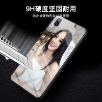 vivox21手机壳玻璃背板vivo全包防摔玻璃硅胶手机壳定制男女款时尚卡通