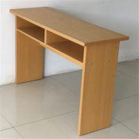 厂家批发培训课桌椅补习班辅导班单双人学生课桌板式会议桌