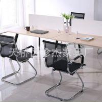 厂家直销现代简约钢架四人位 两人位办公室多功能办公桌 可定做
