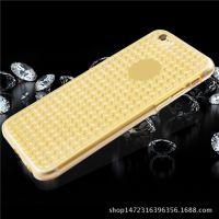 苹果iPhone6S/5S/7S/PLUS透明钻石纹硅胶手机保护套壳超薄超软TPU